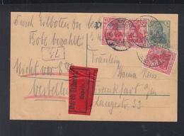 Dt. Reich Expres-PK Frankfurt Am Main 1914 - Deutschland