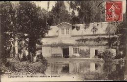 Cp Longueville Seine Et Marne, Annexe Du Château De Besnard - Frankrijk