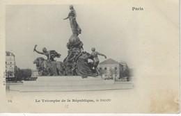 75 ( Paris ) - PARIS  - Le Triomphe De La Republique , De DALOU - Statues