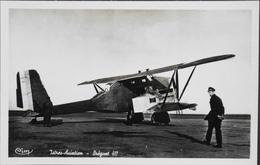 CPA. Carte-Photo > Entre Guerres > ISTRES-AVIATION - Avion BREGUET 411 - En TBE - 1919-1938: Entre Guerres