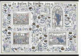 France 2014 Bloc  N° 135 Neuf Luxe. Histoire De France, Salon Du Timbre. à La Faciale - Neufs