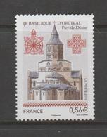 """FRANCE / 2010 / Y&T N° 4446 ** : """"Touristique"""" (Basilique D'Orcival - Puy-de-Dôme) X 1 - Unused Stamps"""