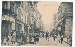 PARIS - N° 3 - LA RUE DE LA REUNION (XXe) - Arrondissement: 20