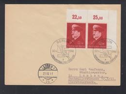 Dt. Reich Brief 1941 Eckrand Paar Sonderstempel - Storia Postale