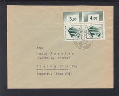 Dt. Reich Brief 1940 München Randpaar - Storia Postale