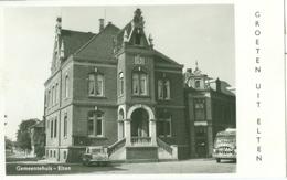 Elten 1956; Rathaus - Gelaufen. (J. Schüling - Elten) - Emmerich
