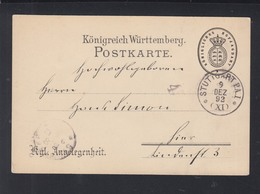 Württemberg Kgl. Angelegenheit Treibjagd 1892 - Wurtemberg