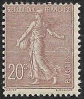 FRANCE  1903 - YT 131 - Semeuse 20c  - NEUF** - Cote 190e - 1903-60 Sower - Ligned