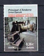 Spanish Andorra Farga Rossell 2012 MNH S/A - Nuevos