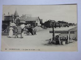 FRANCE-CALVADOS-14-COURSEULES-LES QUAIS DE LA GARE - Courseulles-sur-Mer