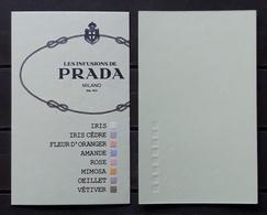 TARJETA PRADA - LES INFUSIONS DE PRADA. - Cartes Parfumées