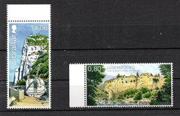 Gibraltar And Luxembourg Joint Issue 2019 BOTH ISSUES MNH - Emissions Communes