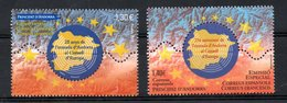 Andorra Spanish And French Joint Issue 2019 Both Issues MNH - Emissions Communes