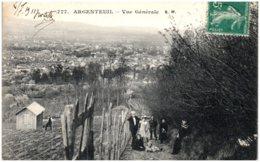 95 ARGENTEUIL - Vue Générale - Argenteuil