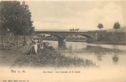 France - 57 - Ars S. M. - Nels Série 105 N° 31 - Der Kanal - Les Laveuses Et Le Canal - Ars Sur Moselle
