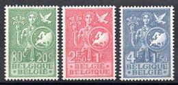 BELGIQUE - YT N° 927 à 929 - Neufs ** - MNH - Cote: 70,00 € - Belgium