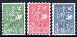 BELGIQUE - YT N° 927 à 929 - Neufs ** - MNH - Cote: 70,00 € - Nuovi