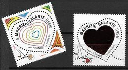 France 2011 N° 4528/4529 Neufs St Valentin Mauriziio Galante à La Faciale - Francia