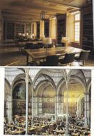 7 Cp   Bibliotheque  Nationale - Cartoline
