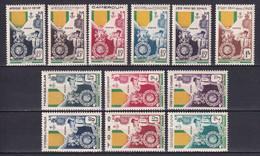 1952 - SERIE COLONIALE MEDAILLE MILITAIRE * MLH - COTE = 145 EUR. - 1952 Centenaire De La Médaille Militaire