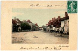 03 SAINT-POURCAIN-sur-SIOULE - Faubourg Saint-Nicolas Et Route De Chantelle - Autres Communes