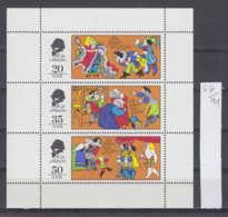 91K66 / 1975 - Michel Nr. Klb. 2096 - 2098 ( ** ) Märchen (X): Des Kaisers Neue Kleider Hans Andersen , DDR Germany - Blocchi