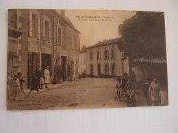 CPA 16 Charente Salles-Lavalette Quartier Du Champ De Foire Vins En Gros Patrat 1934 - France