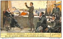 6 Chromos - Liebig - Miguel De Cervantes - Liebig