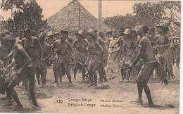 CONGO BELGE DANSES ABABUE - Belgisch-Kongo - Sonstige