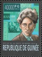 Guinee Jean Cocteau France Poet Novelist 1v Stamp Michel:10005 - Célébrités