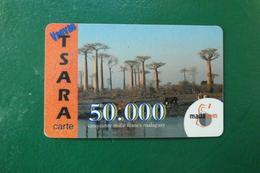 TELECOM MADAGASCAR  VAOVAO TSARA CARTE  50 000 MALAGASY  MADACOM - Madagascar