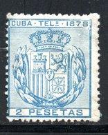 TELEGRAPHE / TELEGRAFOS YT 43 NEUF SANS GOMME - - Kuba (1874-1898)