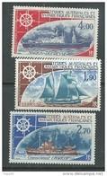 TAAF P. A.  N° 44 / 46 XX Bateaux, Les 3 Valeurs  Sans Charnière, TB - Unused Stamps