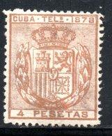 TELEGRAPHE / TELEGRAFOS YT 44 NEUF SANS GOMME - - Cuba (1874-1898)