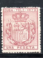 TELEGRAPHE / TELEGRAFOS YT 45 NEUF SANS GOMME - - Kuba (1874-1898)