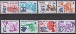 Rwanda Ruanda 1976 OCBn° 745-752 *** MNH Cote 3,75 Euro - 1970-79: Neufs