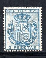 TELEGRAPHE / TELEGRAFOS YT 46 NEUF SANS GOMME - - Kuba (1874-1898)