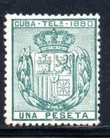 TELEGRAPHE / TELEGRAFOS YT 48 NEUF SANS GOMME - - Kuba (1874-1898)