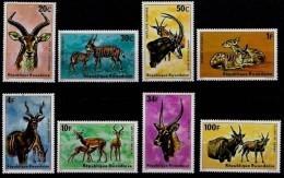 Ruanda Rwanda 1975 OBCn° 611-18 *** MNH Cote 15 Euro Faune Antilopes - 1970-79: Neufs