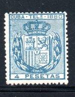 TELEGRAPHE / TELEGRAFOS YT 50 NEUF SANS GOMME - - Kuba (1874-1898)