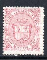 TELEGRAPHE / TELEGRAFOS YT 8 NEUF SANS GOMME - - Cuba (1874-1898)
