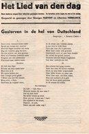 1940-45 WW2 AALST GEORGES HARVENT ALBERTINA HEBBELINCK BREENDONK DUITSCHLAND - Manuscrits