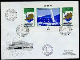 Hongrie - Hungary - Ungarn FDC 1974 Y&T N°BF109 - Michel N°B103A - EUROPA KSZE - Conseil De L'Europe - FDC