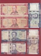Liberia 6 Billets Dans L 'état - Liberia