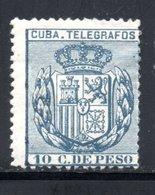 TELEGRAPHE / TELEGRAFOS YT 79 NEUF * - - Kuba (1874-1898)