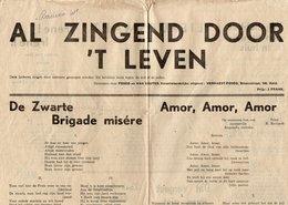 1940-45 WW2 AALST FOSCO VAN CAUTER VERHAEST AALST - Manuscrits