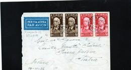 "CG9 - Italia - Posta Militare - Bollo Franc. Mil. N, 210 Divisione ""Pusteria""10/11/1936 Dall'Etiopia X Intra - Italien"