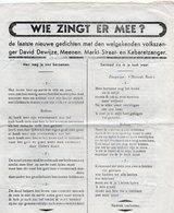 1940-45 WW2 MEENEN MENEN DAVID DEWIJZE BUCHENWALD - Manuscrits