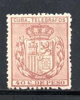 TELEGRAPHE / TELEGRAFOS YT 68 NEUF SANS GOMME  - - Cuba (1874-1898)
