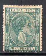 YT 19 DE 1877 NEUF * - Cuba (1874-1898)